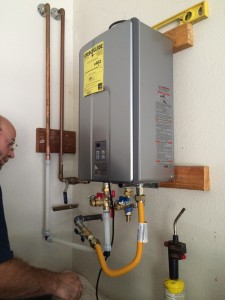 Another flawless Tankless Water Heater install by Craig Johnson Plumbing
