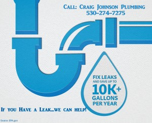 Fix a leak...save water!