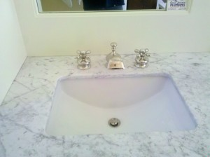 Sink and Faucet Installed by Joel from Craig Johnson Plumbing